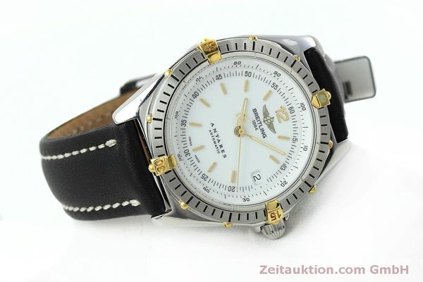 Used luxury watch Breitling Antares steel / gold automatic Kal. B10 ETA 2892A2 Ref. D10047  | 152084 03