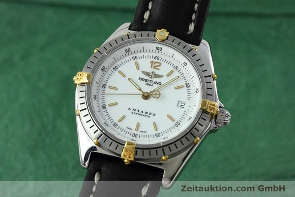 Used luxury watch Breitling Antares steel / gold automatic Kal. B10 ETA 2892A2 Ref. D10047  | 152084 04