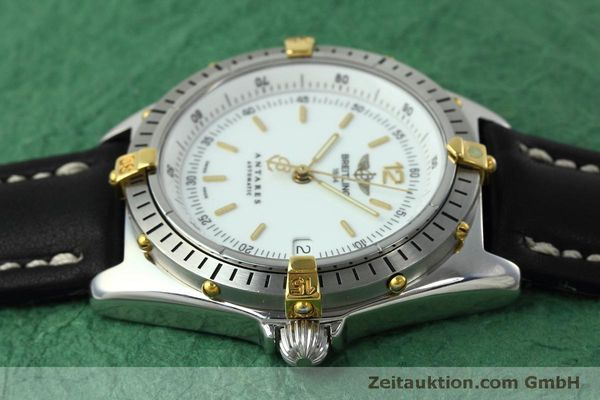 Used luxury watch Breitling Antares steel / gold automatic Kal. B10 ETA 2892A2 Ref. D10047  | 152084 05