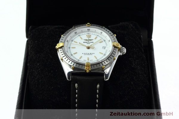 Used luxury watch Breitling Antares steel / gold automatic Kal. B10 ETA 2892A2 Ref. D10047  | 152084 07
