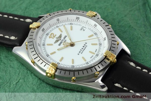 Used luxury watch Breitling Antares steel / gold automatic Kal. B10 ETA 2892A2 Ref. D10047  | 152084 13