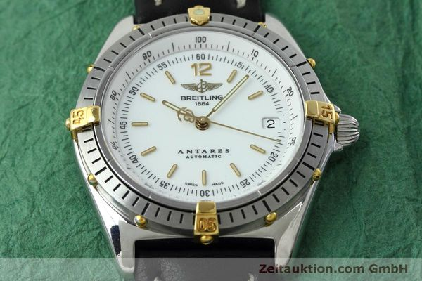 Used luxury watch Breitling Antares steel / gold automatic Kal. B10 ETA 2892A2 Ref. D10047  | 152084 14