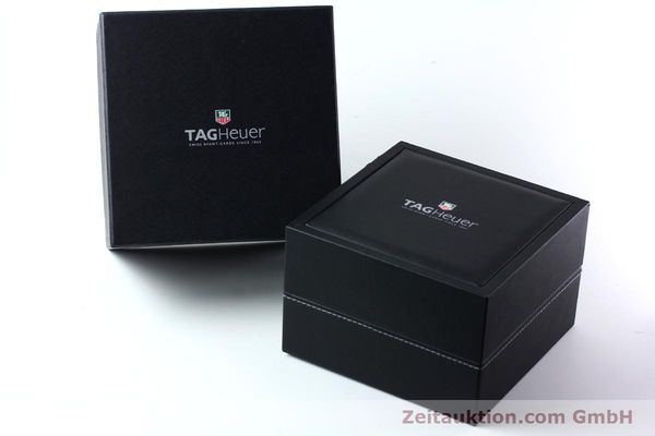 Used luxury watch Tag Heuer Carrera chronograph steel automatic Kal. 16 ETA 7750 Ref. CV2016-2  | 152089 06