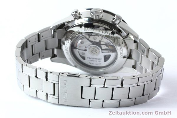 Used luxury watch Tag Heuer Carrera chronograph steel automatic Kal. 16 ETA 7750 Ref. CV2016-2  | 152089 11