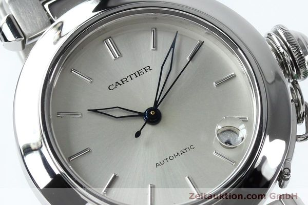 Used luxury watch Cartier Pasha steel automatic Kal. 049 ETA 2892A2  | 152090 02