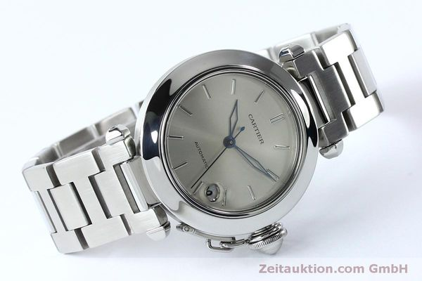 Used luxury watch Cartier Pasha steel automatic Kal. 049 ETA 2892A2  | 152090 03