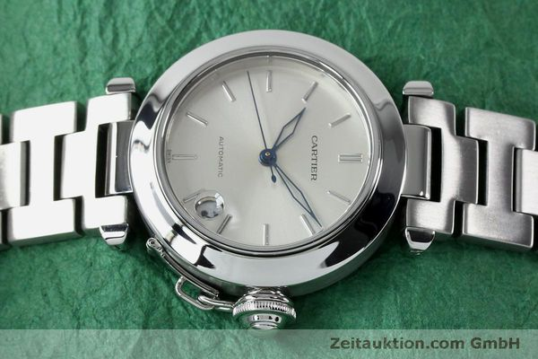 Used luxury watch Cartier Pasha steel automatic Kal. 049 ETA 2892A2  | 152090 05