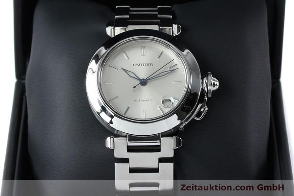 Used luxury watch Cartier Pasha steel automatic Kal. 049 ETA 2892A2  | 152090 07