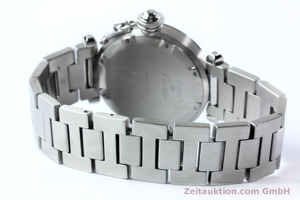 Used luxury watch Cartier Pasha steel automatic Kal. 049 ETA 2892A2  | 152090 11