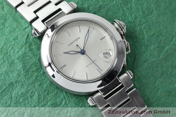 Used luxury watch Cartier Pasha steel automatic Kal. 049 ETA 2892A2  | 152090 14