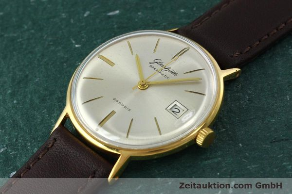 Used luxury watch Glashütte Spezimatic gold-plated automatic Kal. 75 VINTAGE  | 152096 01