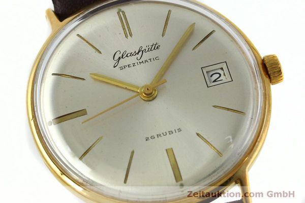 Used luxury watch Glashütte Spezimatic gold-plated automatic Kal. 75 VINTAGE  | 152096 02