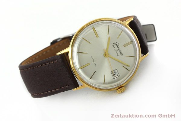 Used luxury watch Glashütte Spezimatic gold-plated automatic Kal. 75 VINTAGE  | 152096 03