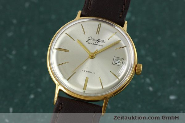 Used luxury watch Glashütte Spezimatic gold-plated automatic Kal. 75 VINTAGE  | 152096 04