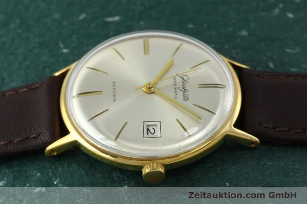 Used luxury watch Glashütte Spezimatic gold-plated automatic Kal. 75 VINTAGE  | 152096 05
