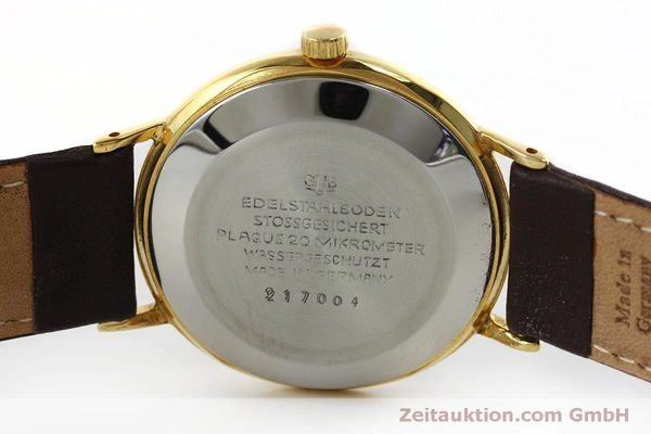 Used luxury watch Glashütte Spezimatic gold-plated automatic Kal. 75 VINTAGE  | 152096 09
