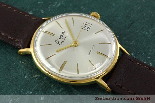 Used luxury watch Glashütte Spezimatic gold-plated automatic Kal. 75 VINTAGE  | 152096 12