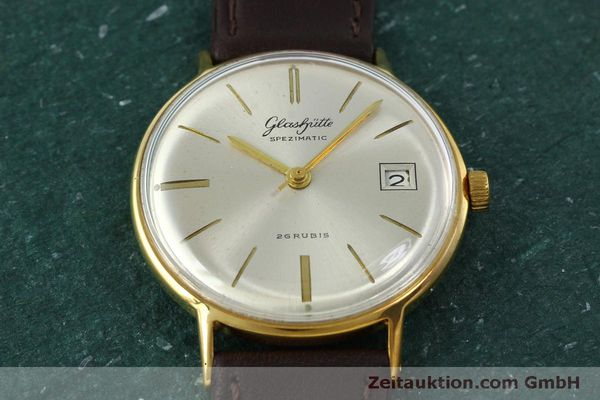 Used luxury watch Glashütte Spezimatic gold-plated automatic Kal. 75 VINTAGE  | 152096 13