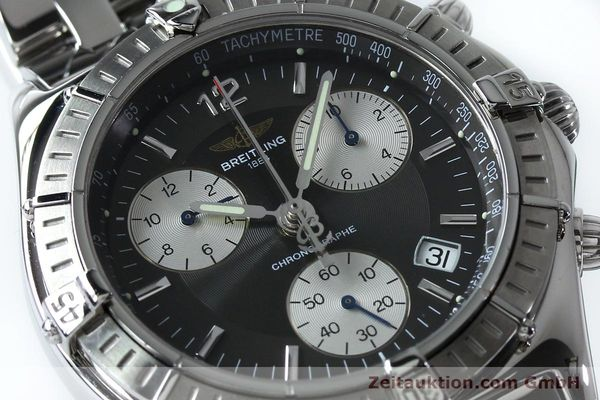 Used luxury watch Breitling Sirius chronograph steel quartz Kal. B53 ETA 251262 Ref. A53011  | 152097 02