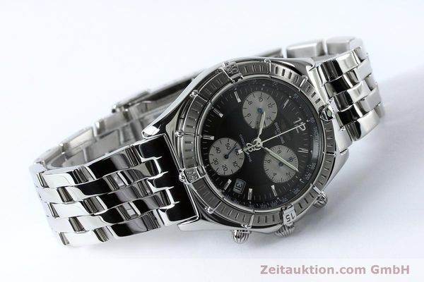 Used luxury watch Breitling Sirius chronograph steel quartz Kal. B53 ETA 251262 Ref. A53011  | 152097 03