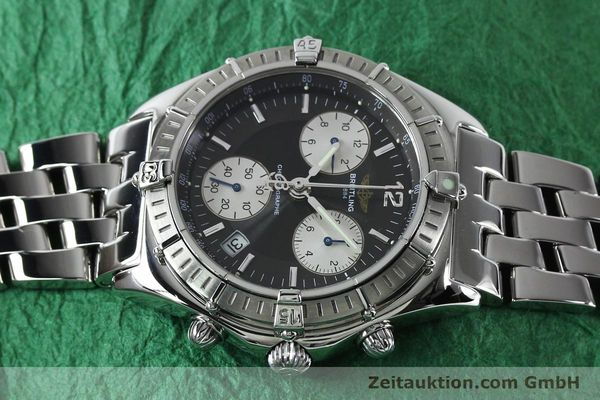 Used luxury watch Breitling Sirius chronograph steel quartz Kal. B53 ETA 251262 Ref. A53011  | 152097 05