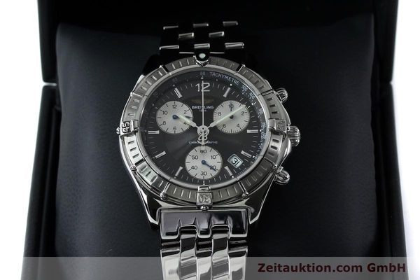 Used luxury watch Breitling Sirius chronograph steel quartz Kal. B53 ETA 251262 Ref. A53011  | 152097 07