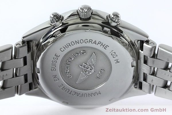Used luxury watch Breitling Sirius chronograph steel quartz Kal. B53 ETA 251262 Ref. A53011  | 152097 09