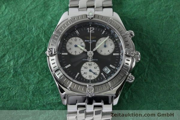 Used luxury watch Breitling Sirius chronograph steel quartz Kal. B53 ETA 251262 Ref. A53011  | 152097 15