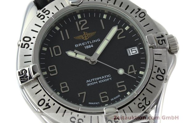 Used luxury watch Breitling Colt steel automatic Kal. B17 ETA 2824-2 Ref. A17035  | 152104 02