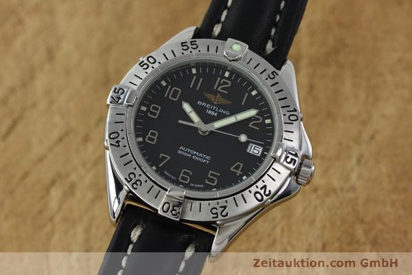 Used luxury watch Breitling Colt steel automatic Kal. B17 ETA 2824-2 Ref. A17035  | 152104 04