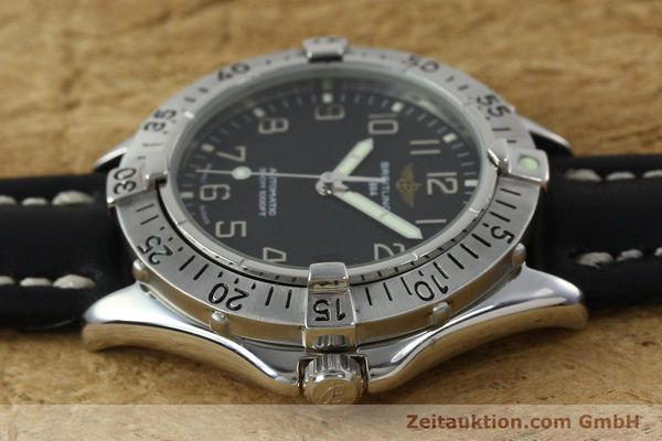 Used luxury watch Breitling Colt steel automatic Kal. B17 ETA 2824-2 Ref. A17035  | 152104 05