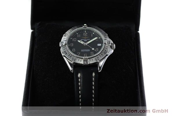 Used luxury watch Breitling Colt steel automatic Kal. B17 ETA 2824-2 Ref. A17035  | 152104 07