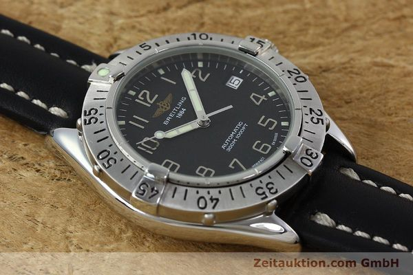 Used luxury watch Breitling Colt steel automatic Kal. B17 ETA 2824-2 Ref. A17035  | 152104 14