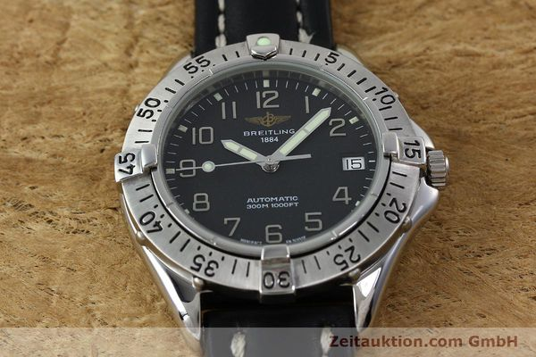 Used luxury watch Breitling Colt steel automatic Kal. B17 ETA 2824-2 Ref. A17035  | 152104 15