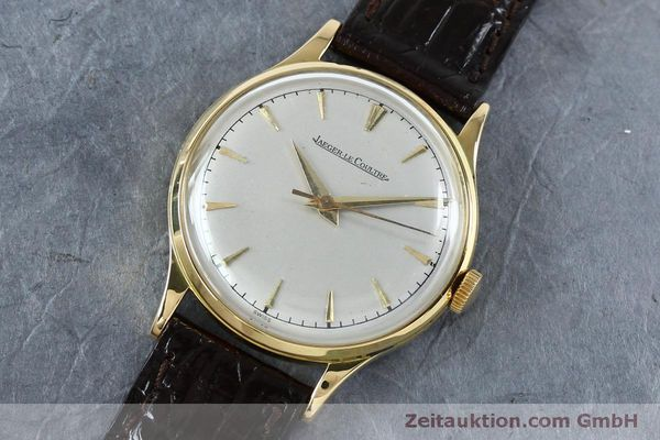 Used luxury watch Jaeger Le Coultre * 18 ct gold manual winding Kal. 800/C Ref. 604477  | 152110 01