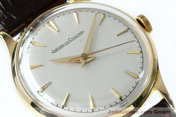 Used luxury watch Jaeger Le Coultre * 18 ct gold manual winding Kal. 800/C Ref. 604477  | 152110 02
