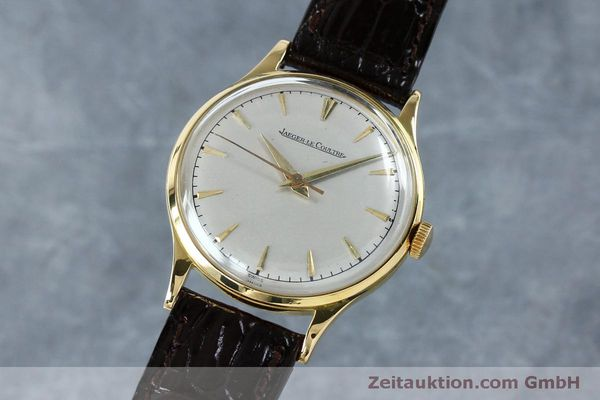 Used luxury watch Jaeger Le Coultre * 18 ct gold manual winding Kal. 800/C Ref. 604477  | 152110 04