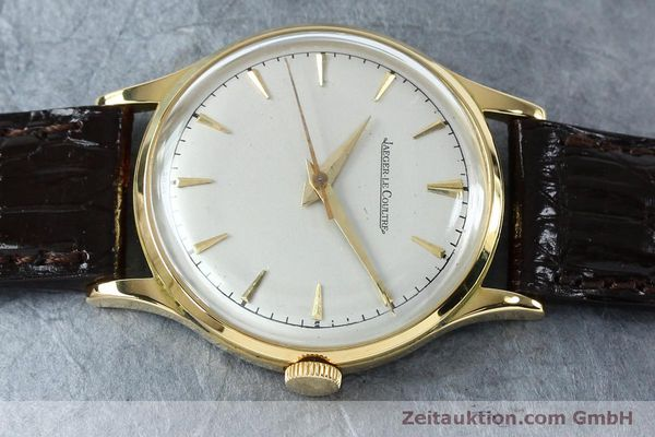 Used luxury watch Jaeger Le Coultre * 18 ct gold manual winding Kal. 800/C Ref. 604477  | 152110 05
