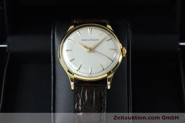Used luxury watch Jaeger Le Coultre * 18 ct gold manual winding Kal. 800/C Ref. 604477  | 152110 07