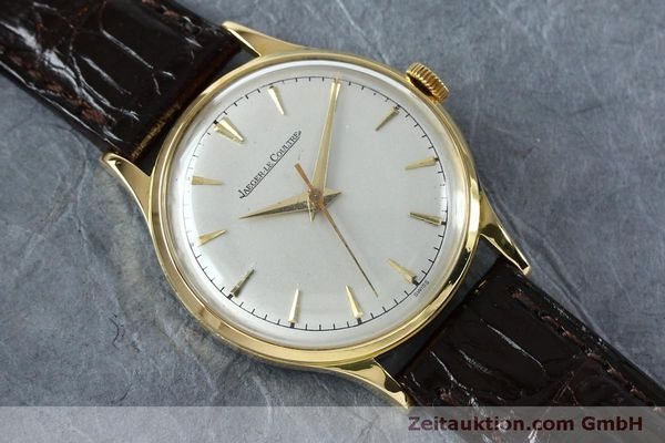 Used luxury watch Jaeger Le Coultre * 18 ct gold manual winding Kal. 800/C Ref. 604477  | 152110 14