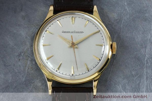 Used luxury watch Jaeger Le Coultre * 18 ct gold manual winding Kal. 800/C Ref. 604477  | 152110 15