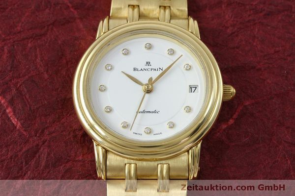 Used luxury watch Blancpain Villeret 18 ct gold automatic Kal. 951  | 152111 17