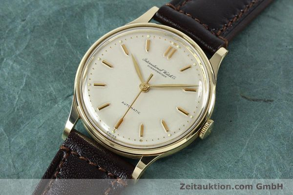 Used luxury watch IWC Portofino 14 ct yellow gold automatic Kal. 853  | 152112 01