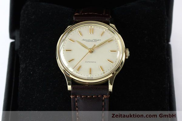 Used luxury watch IWC Portofino 14 ct yellow gold automatic Kal. 853  | 152112 07