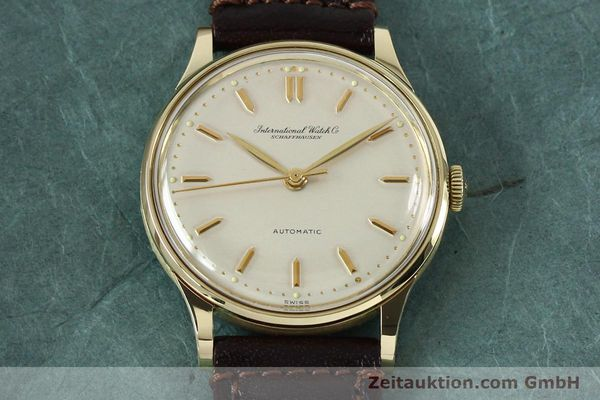 Used luxury watch IWC Portofino 14 ct yellow gold automatic Kal. 853  | 152112 14