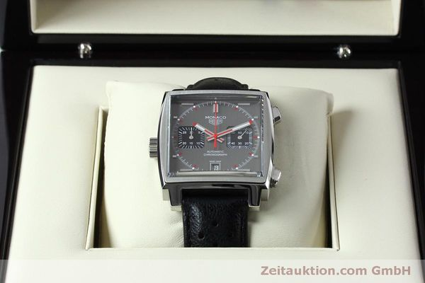 Used luxury watch Tag Heuer Monaco chronograph steel automatic Kal. 11 Ref. CAW211B LIMITED EDITION | 152113 07