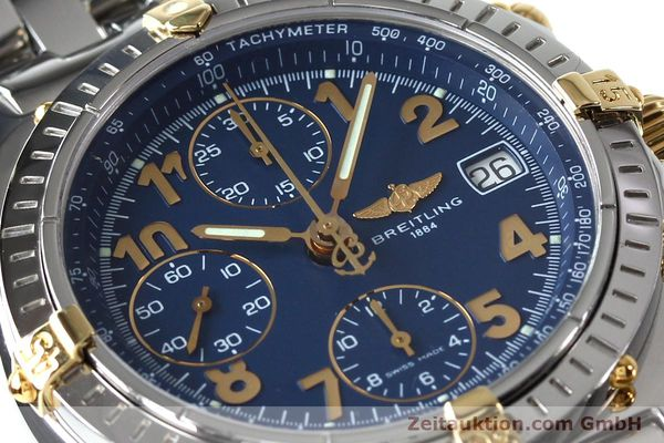 Used luxury watch Breitling Chronomat chronograph steel / gold automatic Kal. B13 ETA 7750 Ref. B13050.1  | 152117 02