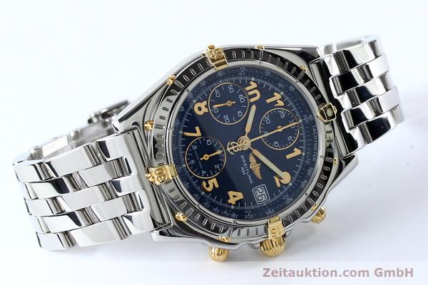 Used luxury watch Breitling Chronomat chronograph steel / gold automatic Kal. B13 ETA 7750 Ref. B13050.1  | 152117 03