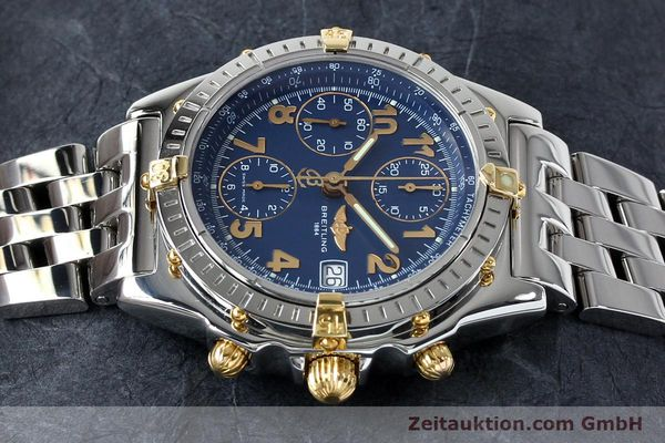 Used luxury watch Breitling Chronomat chronograph steel / gold automatic Kal. B13 ETA 7750 Ref. B13050.1  | 152117 05