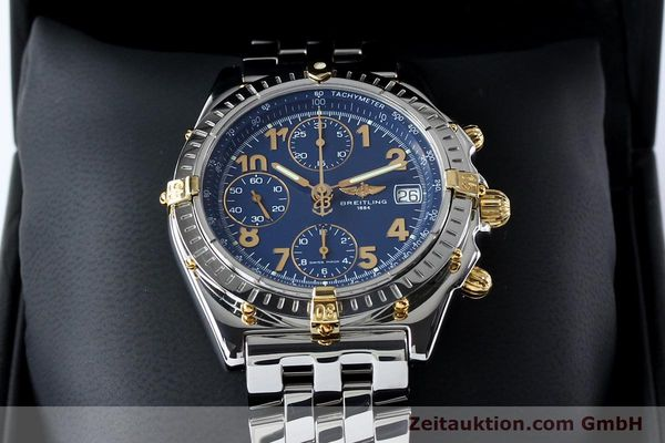 Used luxury watch Breitling Chronomat chronograph steel / gold automatic Kal. B13 ETA 7750 Ref. B13050.1  | 152117 07